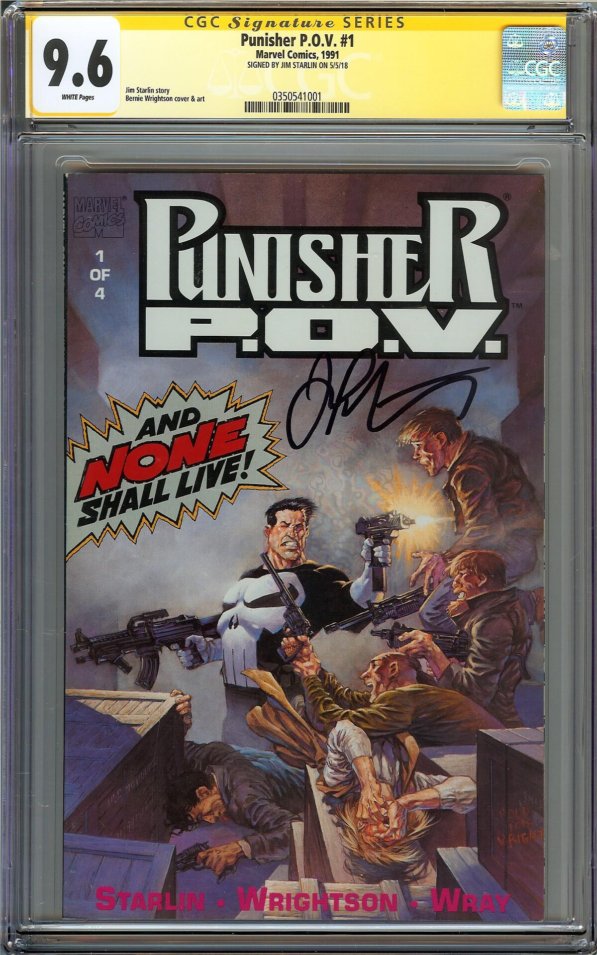 # 3 PUNISHER: P.O.V 1991-9.6 COMIC